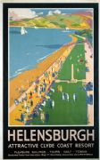 Helensburgh, Clyde Coast Resort, Vintage Railway Travel Poster Print